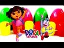 ✿ Мультик Даша Путешественница Коллекция игрушек Киндер сюрприз Дора