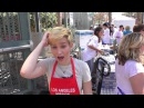 Bex Taylor Klaus talks about bullying at LA Mission End Of Summer Block Party
