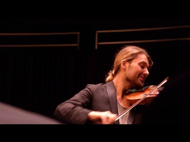 David Garrett - Légende g-Moll, Henryk Wieniawski, 27.05.2016 Hannover Recital mit Julien Quentin