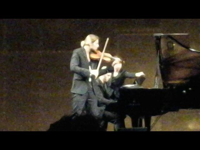 Devid Garrett Julien Quentin, Recital, Paris. 28.05.2016 Cesar Frank, Sonata for violon, 3-4 parts