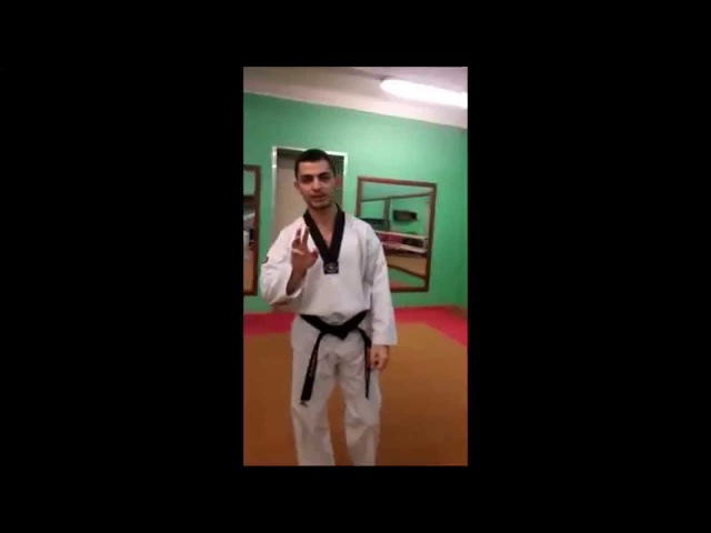 Taekwondo WTF. 3 Пхумсэ Тэгук Сам Джян.