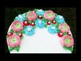 Торт с цветами из крема + подробный МК