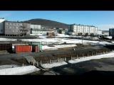 п. Тикси, Полярный день Time lapse