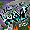 woo woo Wolf (Тату Москва)