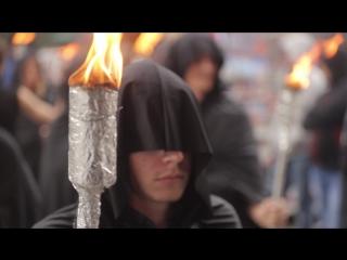 Факельное шествие ЧУМА В ГОРОДЕ в поддержку спектакля ЧУМА