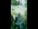 Московский монорельс - в кабинке было битком, снимала как могла. Но окна там почти понорамные!