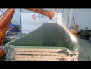 Новый голландский роботизированный 3D-принтер печатает стены из «зеленого» бетона