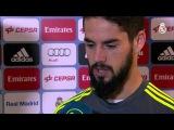 Declaraciones de Isco, Benzema y Jesé tras RM-Sporting