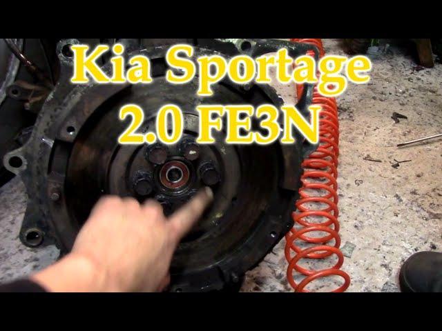 Kia Sportage 2 0 FE3N Как ставить маховик?