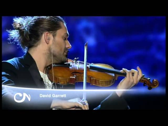 David Garrett - Music was my first love (by John Miles) - live in German TV, February 16, 2013