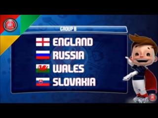 Франция. Стали известны группы на Евро-2016 (12.12.2015 г.)