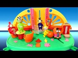 Teletubbies Superdome Playset With Light & Sound Effect Po Laa-Laa Dispy Tinky-Winky Noo-Noo