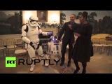 США: Обама танец с штурмовиков, чтобы отпраздновать
