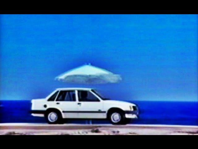 Opel Corsa TR 1982 Spain Commercial Vintage Ad Ibiza España Anuncio GMC