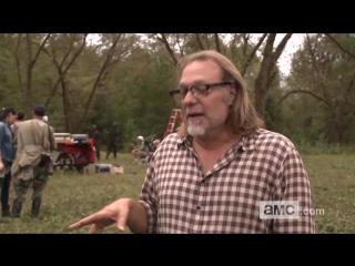Ходячие мертвецы/The Walking Dead (2010 - ...) О съёмках №1 Осторожно, спойлер! (сезон 4, эпизод 14)