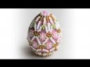 Пасхальное яйцо. Красивый сувенир.