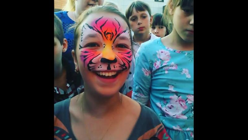 Аквагрим на празднике от магазина Вырастайка vk.com/vyrastaykaprazdnik62
