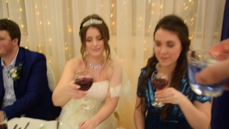 Свадьба, банкет на второй день