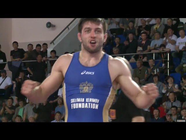 ЧР-2016. 65 кг. Финал. Исраил Касумов - Сослан Рамонов