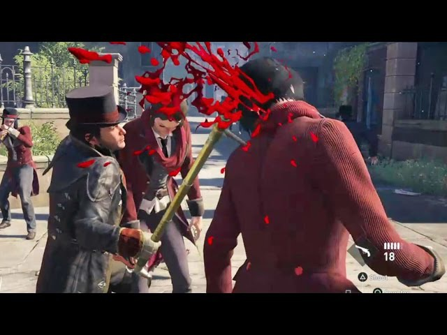 Assassin's Creed Syndicate Brutal and Funny Kills Compilation Part 1