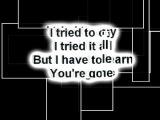 Renegade Five - When You're Gone LYRICS