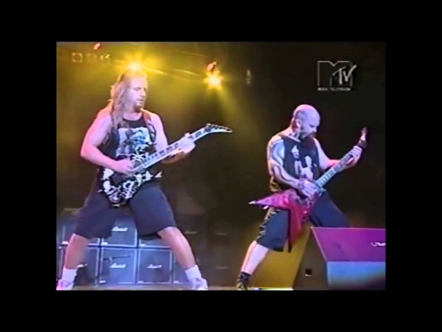 Stain Of Mind / South Of Heaven / Raining Blood - Slayer (Live - Sao Paulo 1998)