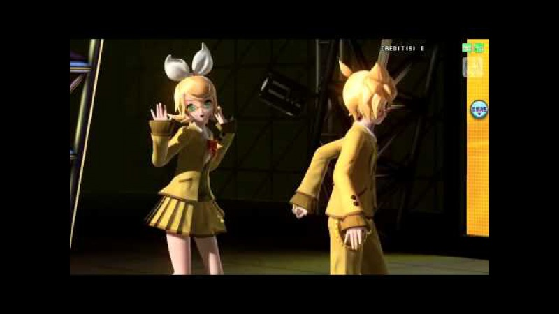 Kagamine Len Rin - Butterfly On Your Right Shoulder -39's Giving Day Edition-【Project DIVA Arcade Future Tone】