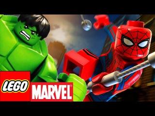 Мультики Лего Мстители. Лего Марвел Супергерои мультфильм на русском языке 3 серия
