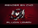Tutorial Render en Cinema 4D con Plug-in Umami  Instalaci