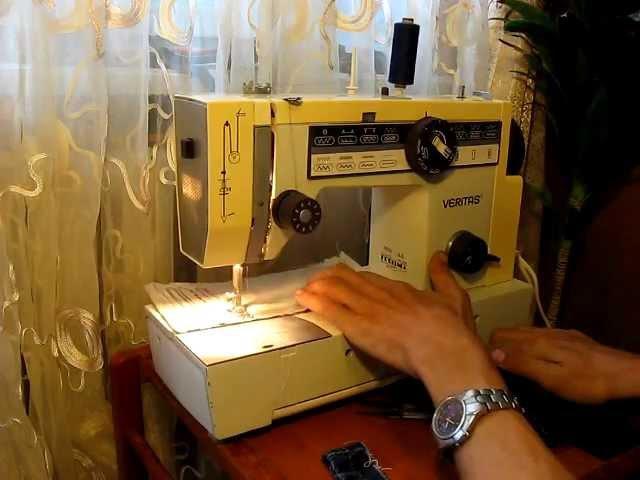 Sewing machine Швейная машина Veritas Веритас 8014/4143 test 1