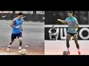 Lionel Messi vs Cristiano Ronaldo - Crazy Traning Skills HD