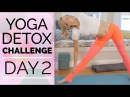 Day 2 - Core Detox - Yoga Detox Challenge (30 Min) Yoga for Your Abs