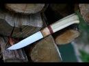 Knifemaking making a knife for ma trip to Bieszczady