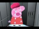 Свинка Пеппа Мультик. Пепа застряла в лифте. Мультфильм на русском языке. Новая серия 2016.
