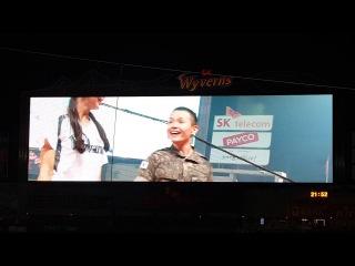 SK와이번스 치어리더&군인 - Cheer Up