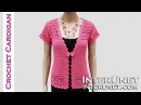 How to crochet lace cardigan jacket