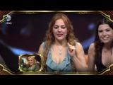 Реакция Мерьем Узерли на себя в  «Beyaz Show»  2011 года
