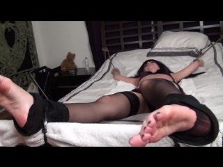 Goth Girls First Time Tickled