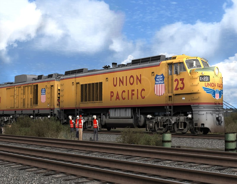 Train Simulator 2016: Steam Edition v. 54.5b (2015) PC - Скриншот 2