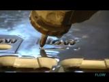 Гидроабразивная резка металла - Flow Dynamic Waterjet XD Part 3.wmv