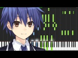 Trust in You - Date A Live II (OP) Piano Tutorial (Synthesia)  KimPianime