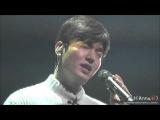 [LeeMinHo, 직캠] 이민호 160116 1st Talk Concert_선물(I love you)