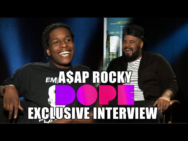 ASAP Rocky talks DOPE *Exclusive* |Chuey Martinez|