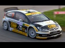 Citroen C4 WRC Tribute with Pure Sounds, Launch Control, Flames More