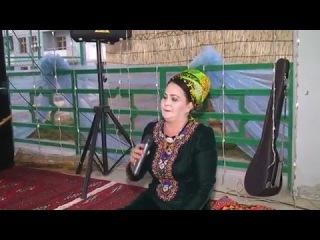 Ogulbossan Rahymowa - Halk aýdym [2015] Mary toýy (Janly ses) Dutar aýdymy