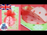 How to Make an Easy Christmas Cards DIY *Card Making Christmas Greetings* 2015 Crafts Ideas Mathie