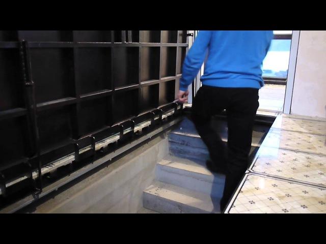 Люк в подвал под плитку на лестницу. Шикарная работа! » Freewka.com - Смотреть онлайн в хорощем качестве