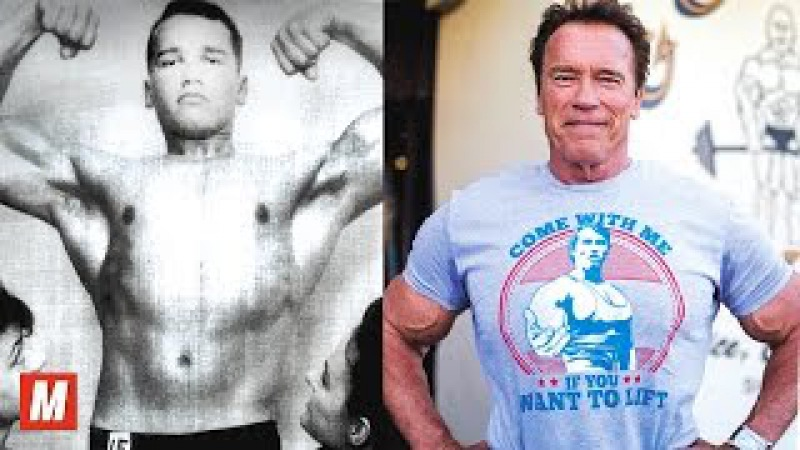 Arnold Schwarzenegger | From 17 To 70 Years Old
