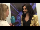 ESC 2014 Intervju med Conchita Wurst (nrk.no, 30.04.2014)