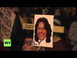 Гондурас: Сотни требуем справедливости для активиста убили Берта Касерес.